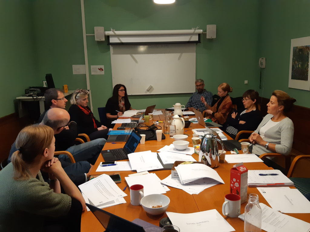 Work-shop with members from the Acceptability and Discretion projects in Bergen, August 2018.