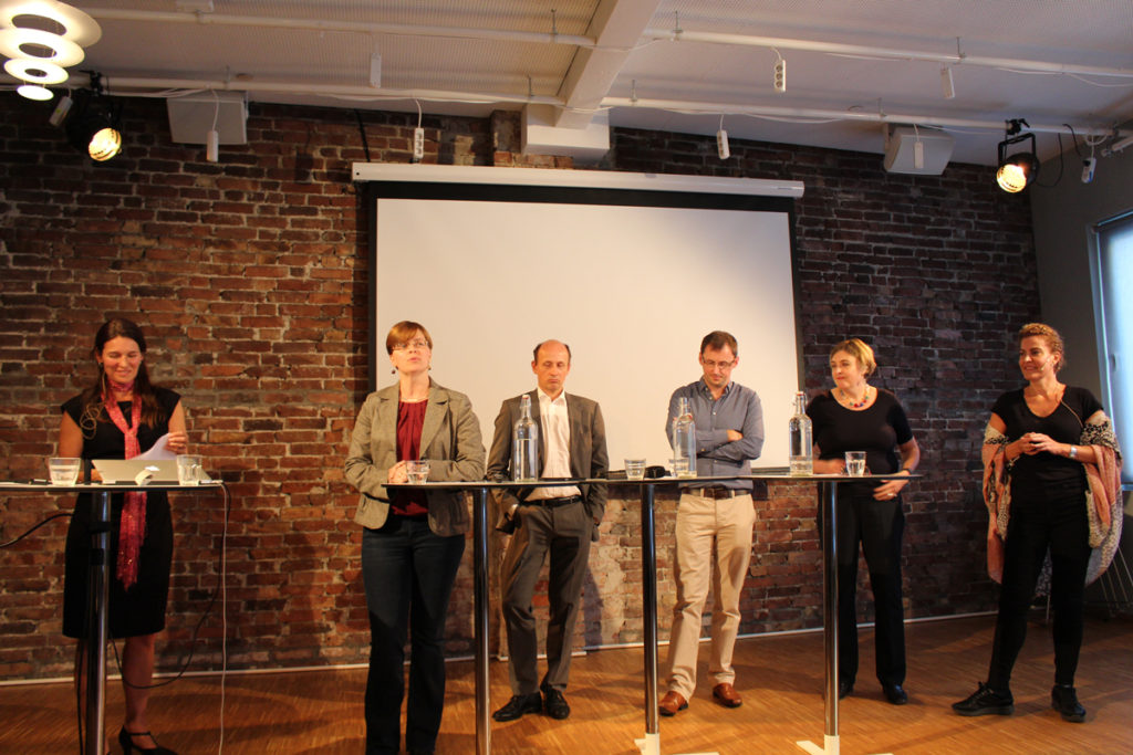 Launch of our ERC project 'DISCRETION' at Bergen Exchanges 2017