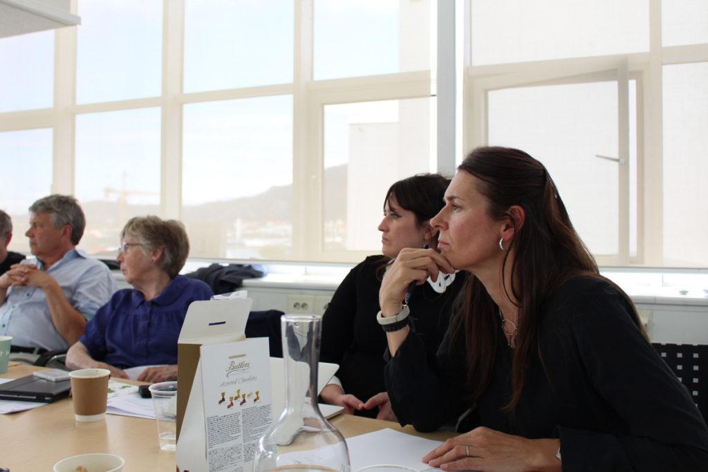 Principal investigator Marit Skivenes at our workshop in August 2017