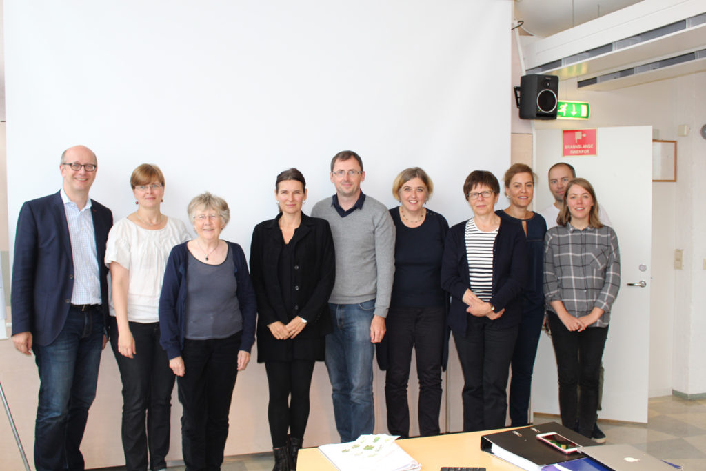 The research teams for both the ERC and the ACCEPTABILITY-projects, workshop aug 2017