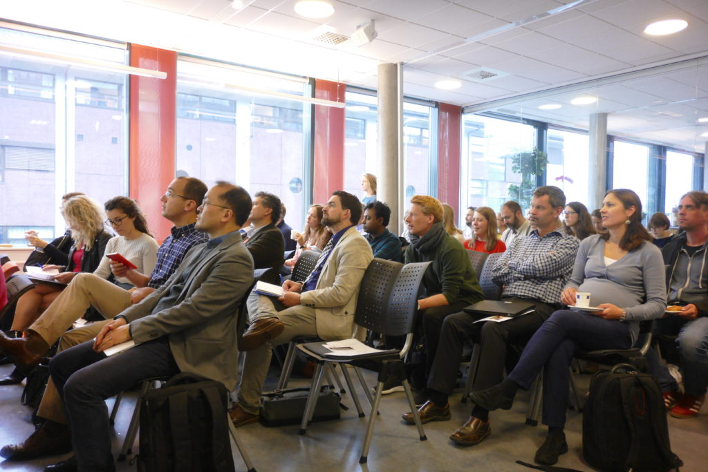 Audience at INSP Symposium on Social Policy in Bergen, September 2018.